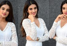 Nidhhi Agerwal Interview Stills Mr. Majnu Movie
