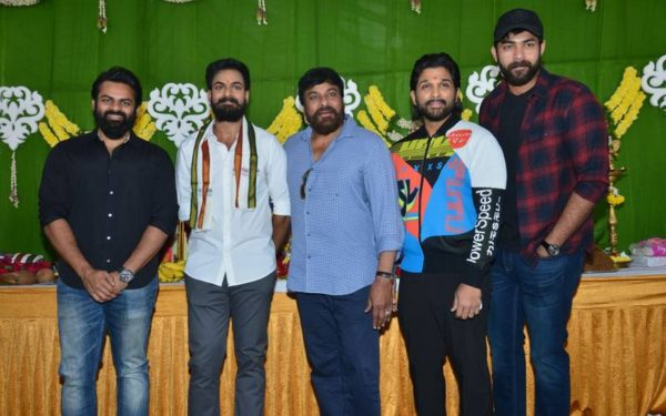 Panja Vaishnav Tej Debut Movie Launch Event Images