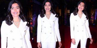 Rashmika Mandanna At Zee Cine Awards Telugu 2018 Red Carpet Images
