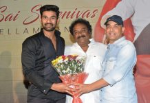 Bellamkonda Sai Sreenivas Birthday Celebrations Images