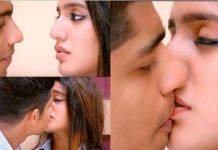 Wink Girl Priya Prakash Varrier Lip Kiss