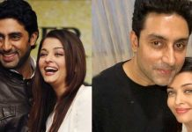 Aishwarya Birthday wishes for Husband Abhishek Bachchan