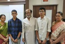 Superstar Rajinikanth helps his fans family
