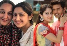 Sayyeshaa Saigal Mother