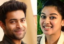 Varun tej with Mrinalini Ravi in Valmiki Film