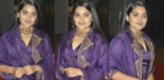 Actress Nivetha Thomas Latest Sills From 118 Movie Pre Release Event Images