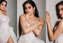 Janhvi Kapoor Hot Stills From Hello Hall Of Fame Awards 2019 Photos