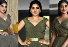 Nivetha Thomas Latest Stills At 118 Movie Success Meet
