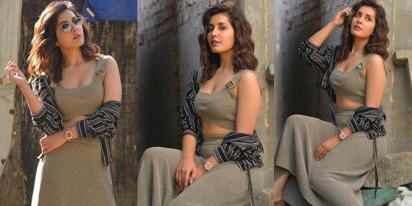 Raashi Khanna New Photoshoot Images