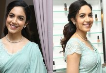 Ritu Varma Looks Stunning In Saree Photos