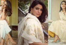 Samantha Akkineni Looking Beautiful in Dress