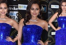 Sonakshi Sinha Stills From Hindustan Times Most Stylish Awards 2019