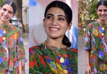 Samantha Akkineni Stills At Majili Movie Success Meet Photos