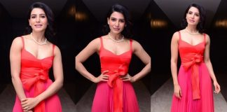 Samantha Stills From Oh Baby Movie Pre Relaese Event