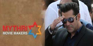 Mythri Movie Makers to produce Salman film?