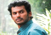 Vishal's manager Hari's car damaged by unknown miscreants