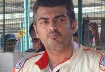 Thala Ajith suffers bruises while performing bike stunt