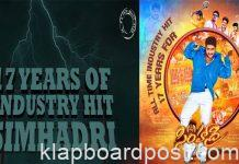 17 Years For Simhadri trends