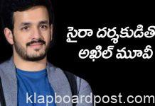Akhil with Director Surender Reddy