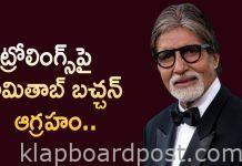 Amitabh Bachchan rebukes anonymous trolls
