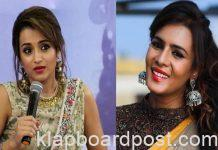 Trisha gets warning from Meera Mithun