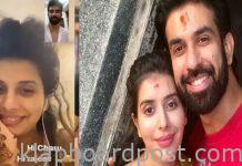Rajeev Sen And Charu Asopa video call