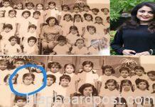 Ramya Krishnan's throwback pic from her school days
