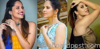 Anchor anasuya about casting couch