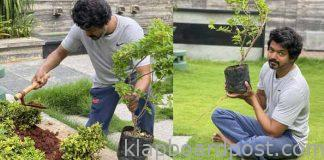 Hero Vijay comment on Green India Challenge
