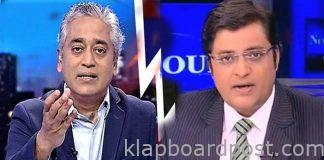 It is Arnab Vs Rajdeep Sardesai