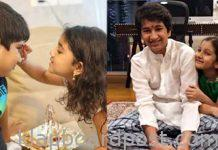 Mahesh babu and Allu Arjun children's rakhi celebration