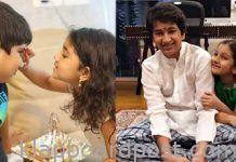 Mahesh babu and Allu Arjun children's rakhi celebration