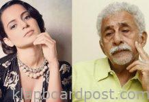 Naseer calls Kangana half educated starlet