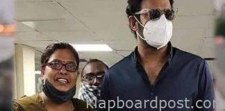 Hyderabad :Prabhas spotted at Khairatabad RTA office