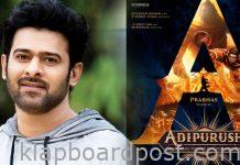 Prabhas in and as Adi Purush