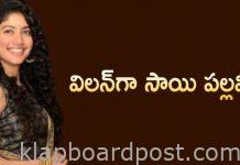 Sai Pallavi Villain Role In Nani Next movie