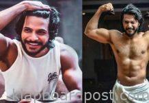 Sundeep kishan six pack abs pics viral