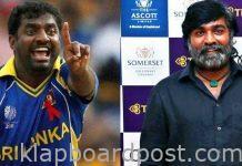 Muttiah Muralidharan's biopic :Whoa! Sethupathi to lose weight for 800