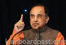 SSR case: Swamy to file an PIL
