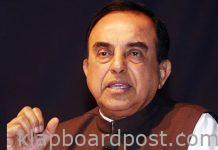 Subramanian Swamy takes a dig at Modi