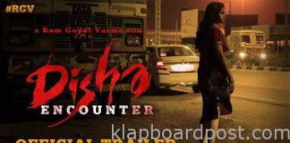 RGV Disha encounter movie trailer