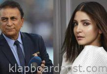 Gavaskar responds to Anushka's allegations