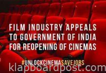 Jobs at stake, open cinemas immediately