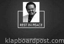 SP Balasubramaniam passed away