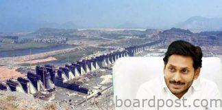 Jagan 5 year target fixed quotes cost for irrigation projects