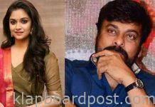 Keerthy suresh huge remuneration for Chiranjeevi movie