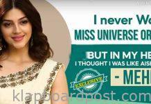 Actress Mehreen Pirzada Exclusive Interview with Klapboard