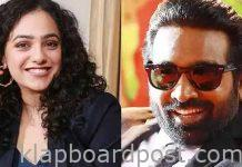 Nithya Menen with Vijay Sethupathi in Malayalam film