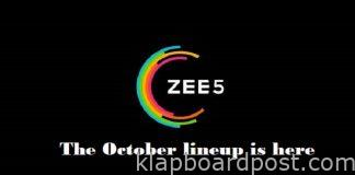 Streaming enthusiasts set for a feast on ZEE5 this October