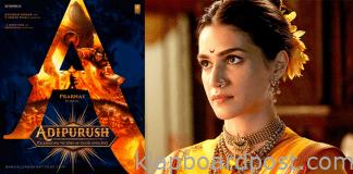 Kriti sanon as heroine in Prabhas adipurush